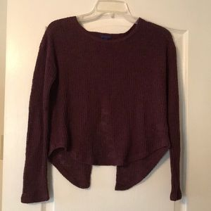 Aeropostale Sweater-Wine